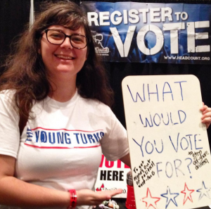 Supporting Wolf-PAC at Politicon 2015!