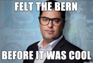A meme I made of Cenk Uygur of TYT.